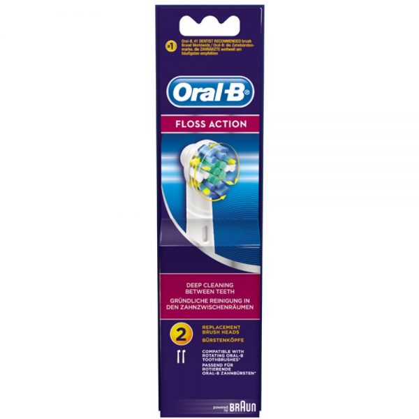 ORAL-B Floss Action (2 stuks)