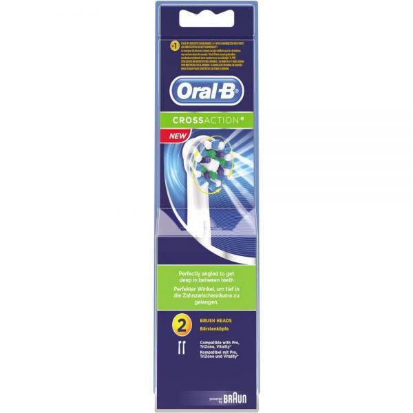 Oral-B Opzetborstels Cross Action 2 stuks -1