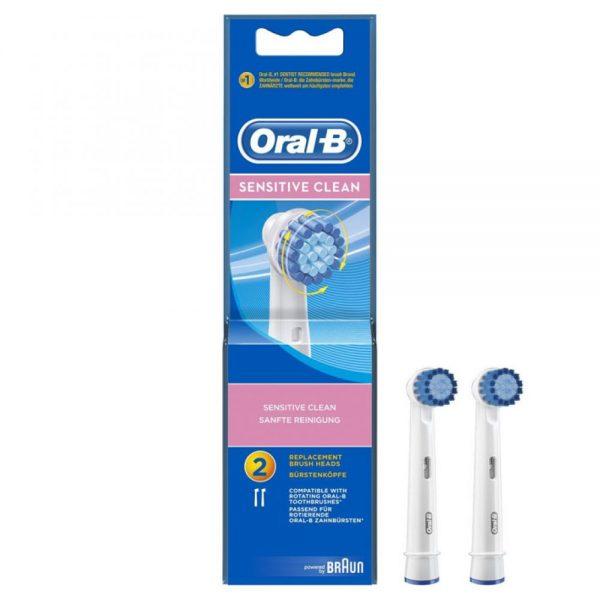 Oral-B Opzetborstels Sensitive Clean 2 stuks